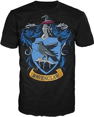Harry Potter Ravenclaw Crest Men's Black T-Shirt