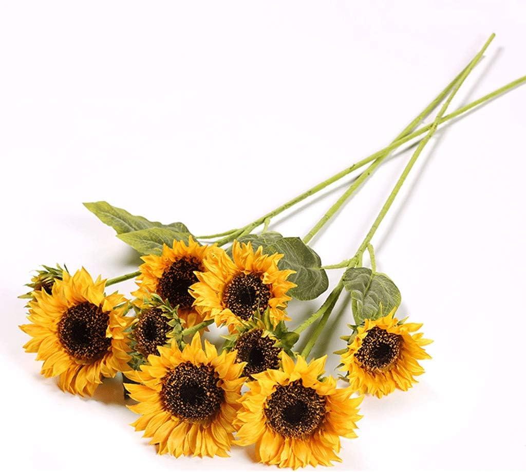 liushop Artificial Ranking TOP9 Flowers Sunflower Home Liv Bouquet Simulation Department store