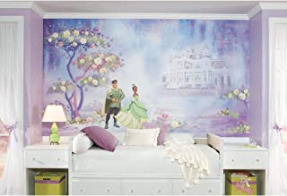 RoomMates JL1206M Princess & Frog Water Activated Removable Wall Mural - 10.5 ft. x 6 ft.