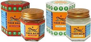 comprar comparacion Bálsamo De Tigre Rojo 20g + Bálsamo De Tigre Blanco 20g Tiger Balm Tailandia