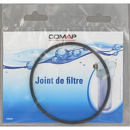 """Comap S900683 Joint torique d'étanchéité de Bol sur Corps de Filtre 9"""" 3/4, Noir"""