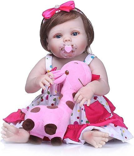 Centro comercial profesional integrado en línea. Heaviesk Reborn Baby Doll 21 Pulgadas de Cuerpo Completo de de de Vinilo de Silicona Baby Doll Hecho a Mano Adorable Adorable Toddle Toddle  nuevo sádico