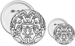 Égypte Ailes de Fresco Asymétriques Kit de création de boutons et badges