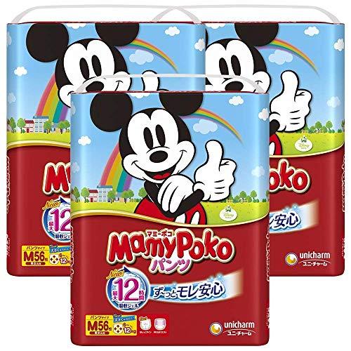 【パンツ Mサイズ】マミーポコパンツ (6~12kg)168枚(56枚×3) [ケース品] 【Amazon.co.jp限定】