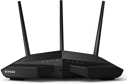 $81 Get Tenda AC18 Wireless-AC1900 Dual Band Gigabit Router,1300Mbps at 5GHz, 600Mbps at 2.4GHz,3 External Antennas, USB 3.0 Port, IPv6, Guest Network (AC18), Black