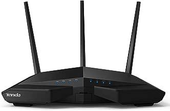 Tenda AC18 AC1900 Router Gaming Gigabit inalámbrico WiFi (1900 Mbps3 antenas externas dbi 5 GHz 24 GHz Dual Band 5 puertos GigabitMemoria DDR3 256MB Beamforming+ USB 3.0)