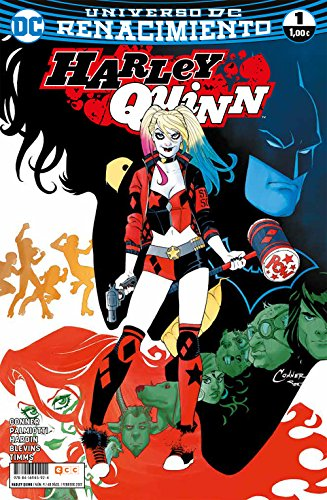 Harley Quinn 1, ECC Ediciones