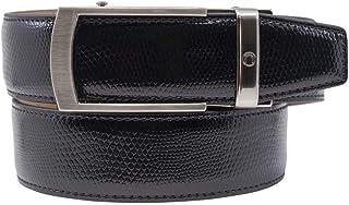 Camden Dress Belt Series Reptile Leather Ratchet Belts with Automatic Buckle for Men - Nexbelt Ratchet System Technology (...