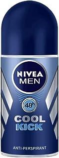 NIVEA MEN Cool Kick, Deodorant for Men, Fresh Scent, Roll-on 50ml
