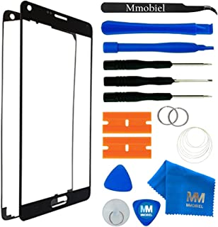 MMOBIEL Front Glass Replacement Compatible with Samsung Galaxy Note 3 (Black) Display Touchscreen incl Tool Kit