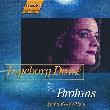 Danz, Ingeborg: Brahms Songs