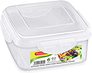 Plastic Forte Elegent Food Storage With Lid Clear 0.6 liter PF-11657(D1)