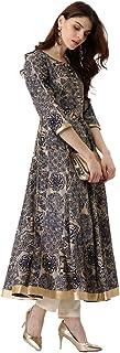 LIBAS Women Anarkali Kurta | Ladies Top Kurti Kameez Ready to Wear | Ethnic Indian Pakistani Party Dress | Suits with Salw...