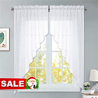 Best sheer swag curtains Reviews