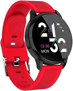 1,2 Pulgadas Fitness Tracker Smart Band Calorie (Color: Rojo)