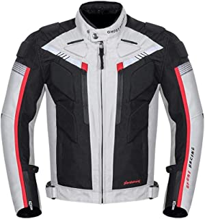 600D Oxford All-Weather Motorcycle Bike Over Jacket Waterproof New (L)