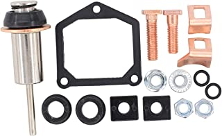 MOTOKU Starter Solenoid Rebuild Repair kit Plunger Spring Contact for Harley-Davidson Dyna Electra Glide Fatboy Heritage Softail Springer Road King Big Twin Sportster 1200 883