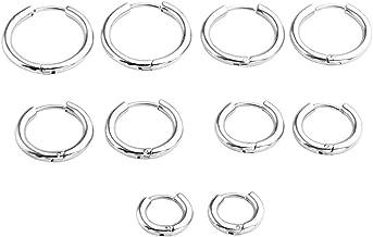 Best hot silver hoop earrings Reviews