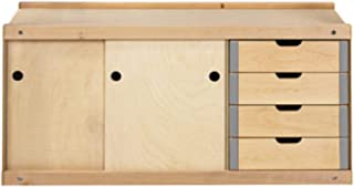Sjöbergs Nordic Plus Storage Cabinet 0042 for Sjöbergs Noric Plus 1450 and Hobby Plus 1340 Workbenches, SJO-33374 (Renewed)