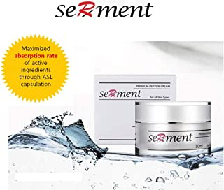 [Serment] Korean Cosmetics Serment Peptide Anti Aging Premium Cream with 17 Amino Compounds and 3 Peptides Skin Lifting and Wrinkle Remover