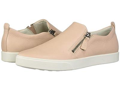 ECCO Gillian Side Zip (Rose Dust Cow Leather) Women