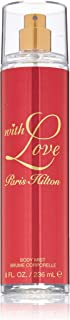 Paris Hilton With Love - perfumes for women Body Spray, Red, 236 ml