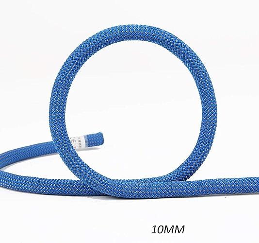 GXYGWJ Ligne de Vie Statique 10 10.5mm Cordes (Taille   10MM 10M)