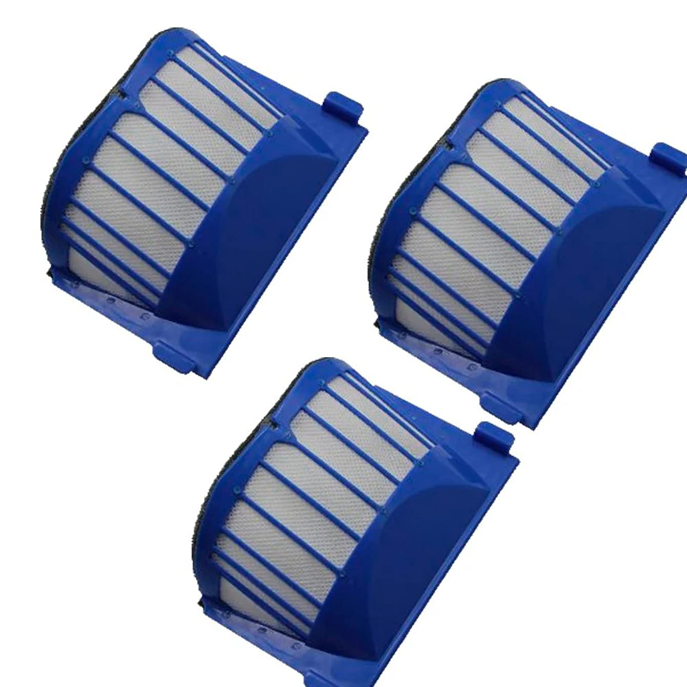 ANBOO 3pcs Aero Vac Filter For iRobot Roomba 500 600 Series 536,550,551,552,564, 585, 595, 600,620, 650 Replacements AeroVac Vacuum Cleaner Accessory