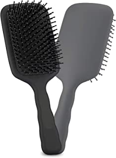 Faigy Large Detangling Paddle Hairbrush, Great on Wet or Dry Hair, for Women, Men and Kids, for Long Thick Thin Curly Natu...