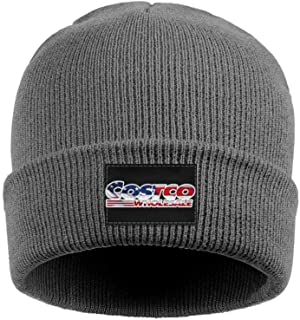 coolgood Women Men Beanie Hat Costco-Wholesale-3D-effect-American-flag-logo-stock-price- Multifunction Watch Cap