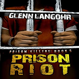 Prison Riot: A True Crime Story of Surviving a Gang War in Prison audiobook cover art