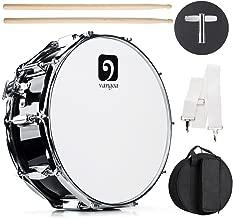 Vangoa Snare Drum Kit, 10 Tuning Lugs, Maple Wood Shell, 14