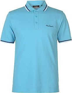 Pierre Cardin Tipped Men's Polo Shirt Short Sleeve Tee Top