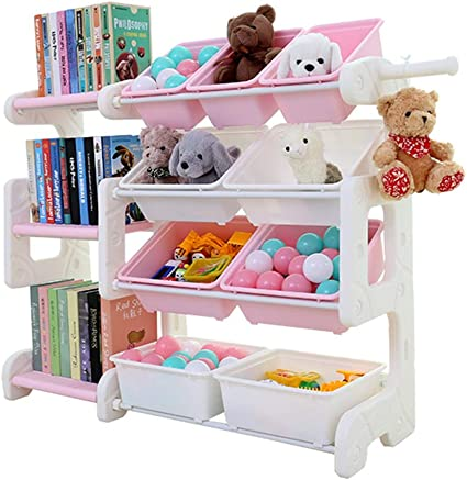 Muebles Estantería infantil para niños Estantería de dibujos ...