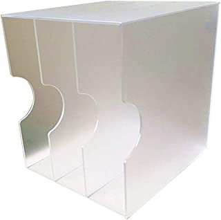 Nai-storage Soporte de Disco de Vinilo LP, acrílico Office Club Ballroom Caja de Almacenamiento de DVD Disco CD Case Home ...