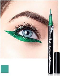 Eyeliner Pencil Eye Liner Pen Green Liquid for Women Girl Matte Long Lasting Professional Smudge Proof and Waterproof Natu...