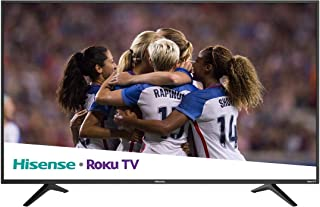 Hisense Roku TV 50in Class (49.5in diag.) 50R6E 4K UHD TV con HDR (Renewed)