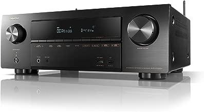 DENON AVサラウンドレシーバー 7.2ch Dolby Atmos Height Virtualizer /ブラック AVRX1600HK