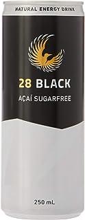28 Black Acai Sugarfree Drink, 12 x 250 Milliliters