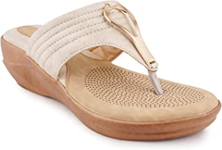 VEILLE Women Wedge Sandal and Fashion Sandal, Ideal for Women