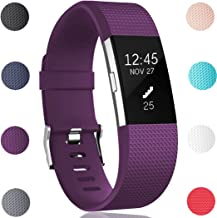 GEAK Bands for Fitbit Charge 2, Adjustable Replacement Sports Wrist Bands for Fitbit Charge 2, Small Large