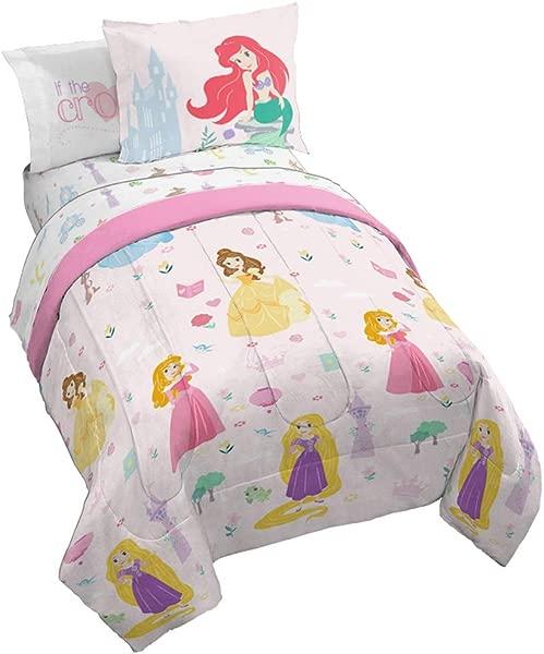 Jay Franco Disney Princess Paper Cut Full Bed Set Pink