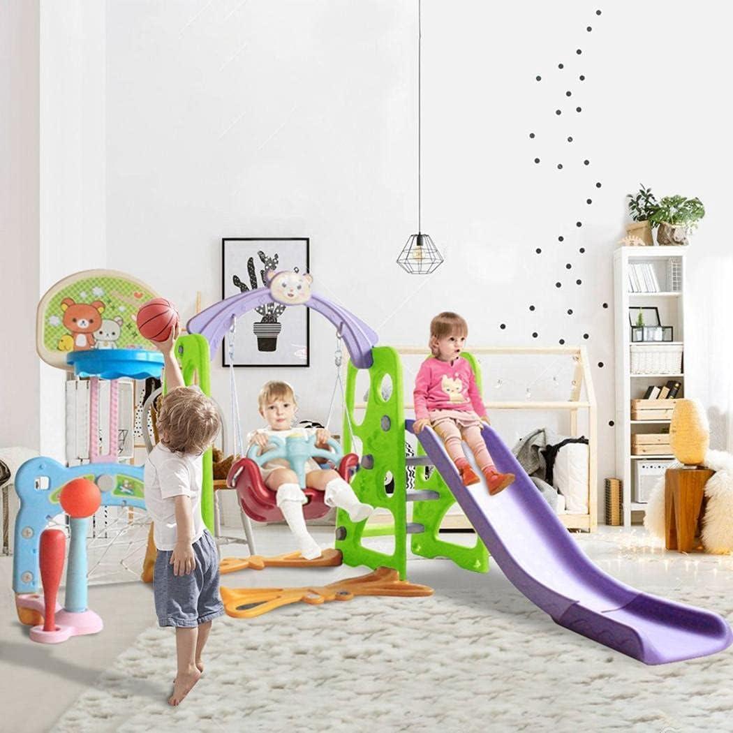 OKBOP Kids いつでも送料無料 Slide and Swing Set Climber 6 Toddler 1 Pla in 今季も再入荷