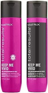 Matrix Total Results Keep me Vivid Shampoo And Conditioner 10.1 Oz