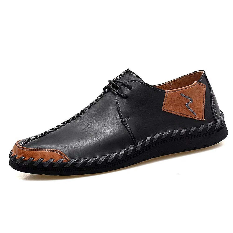 [hitstar] カジュアル 軽量 歩きやすい 軽量 ビジネスシューズ メンズ 通気性 柔軟性 通学 通勤 おしゃれ 目立ち メンズ 紳士靴