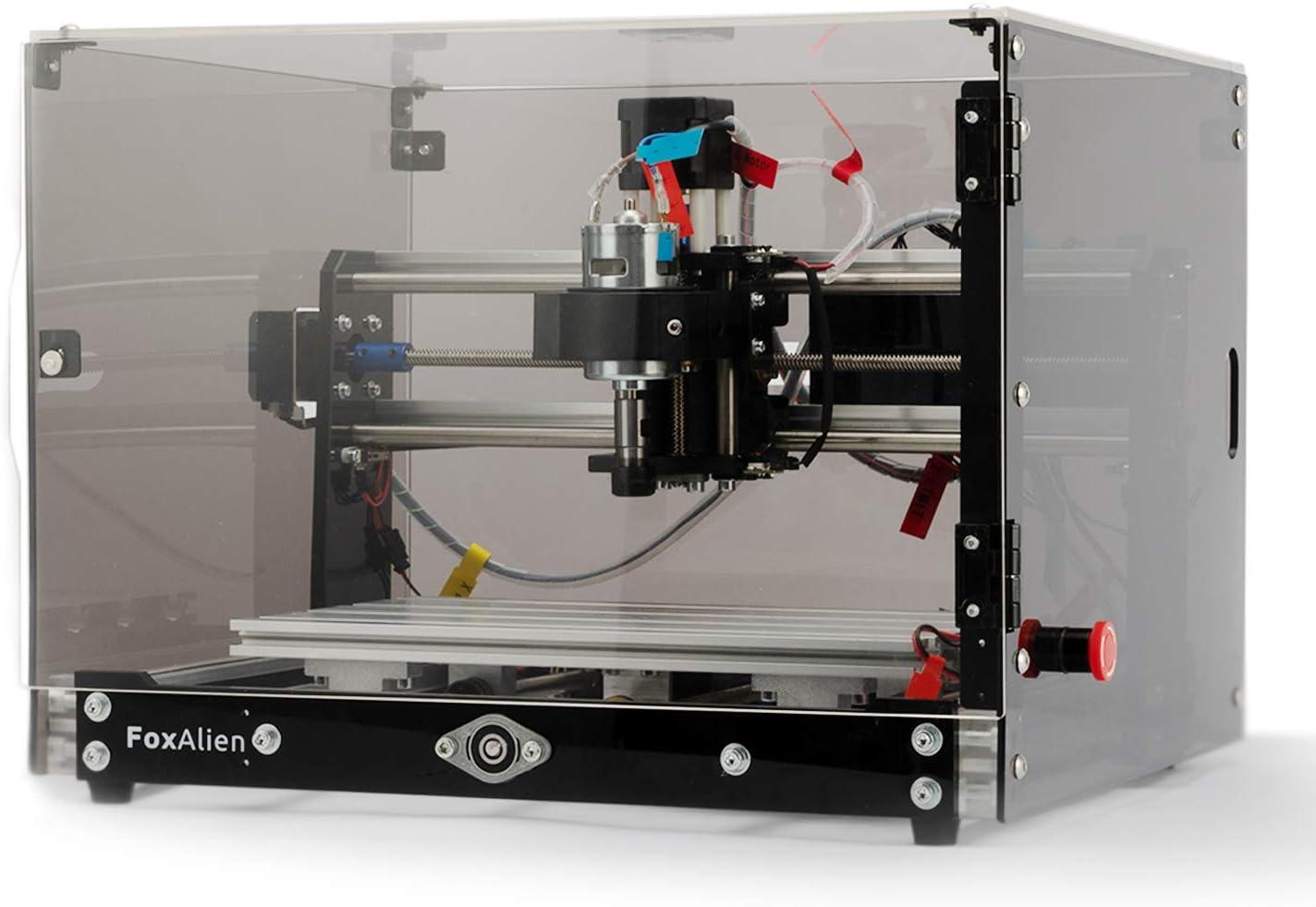 Desktop CNC Router Machine 3018-SE Selling Sales results No. 1 Enclosure with Transparent V2