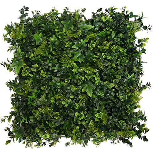 Greensmart Décor Artificial Moss 20' x 20' Greenery Mats, Set of 4