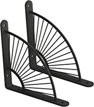 2 stks Craft Bracket Plank Metaal, Drijvende Plankbeugels Iron Shelving ondersteunt Wandmontage Verborgen verborgen beuge...