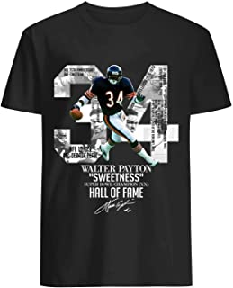 Walter Hall of Fame Shirt Black
