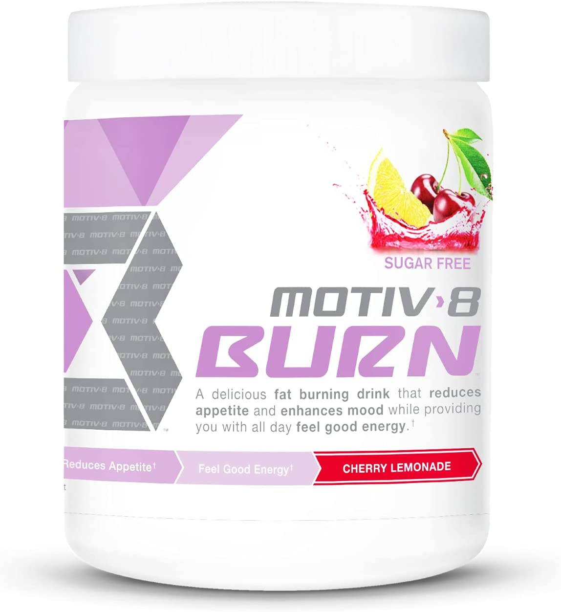 Complete Free Shipping Motiv-8 New Burn V2 Sugar L 30 Sale Special Price Cherry Servings Pre-Workout